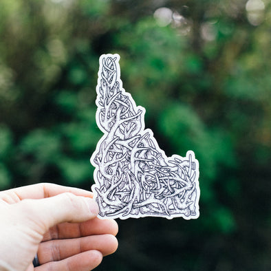 Idaho Antler Sticker
