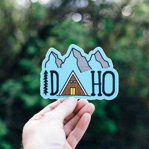 Idaho Cabin Sticker