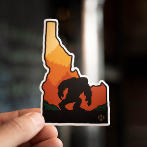 Idaho Sasquatch Sticker