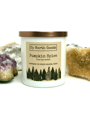 Pumpkin Spice 10oz Soy Candle by Up North Goods