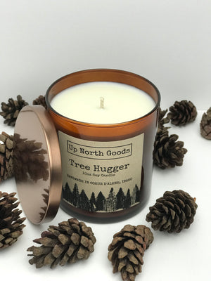 Tree Hugger 10oz Soy Candle by Up North Goods