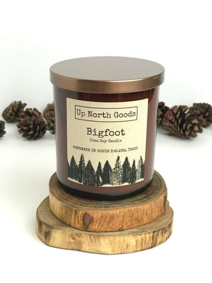 Bigfoot 10oz Soy Candle by Up North Goods