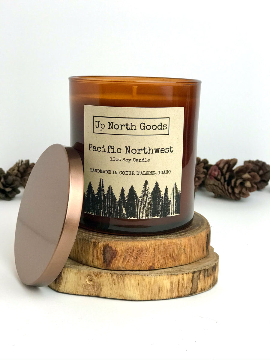 Pacific Northwest 10oz Soy Candle by Up North Goods