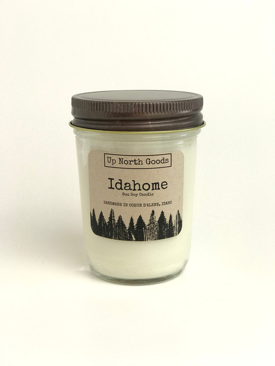 Idahome 8oz Soy Candle by Up North Goods