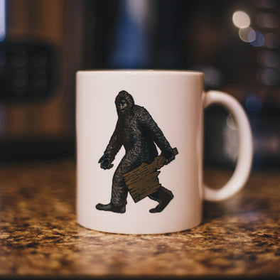 Bigfoot Ceramic Mug