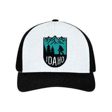Bigfoot Idaho Mountains Patch Hat