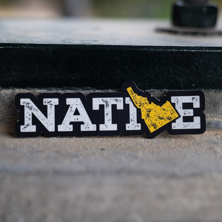 Idaho Native Sticker