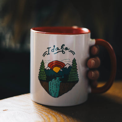 Idaho Scenery Ceramic Mug