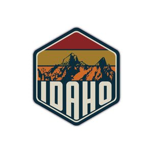 Idaho Wild Mountains Sticker