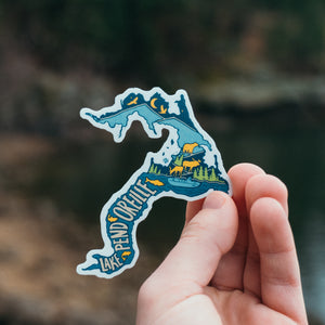 Lake Pend Oreille Sticker