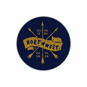 Northwest Explorer Sticker