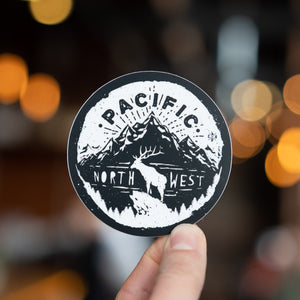 Pacific Northwest Elk Sticker