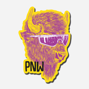 PNW Buffalo Sticker