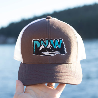 PNW Embroidered Trucker Hat