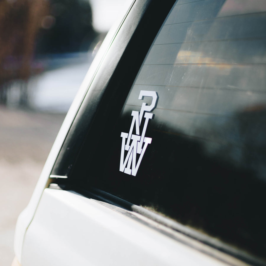 PNW Monogram Decal