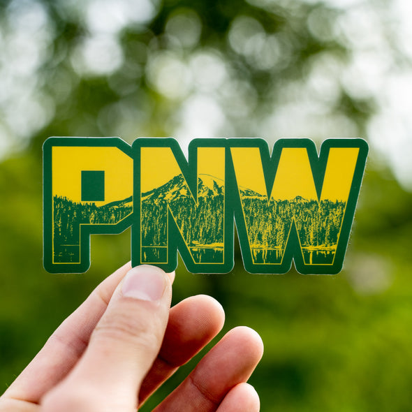PNW Peak Sticker