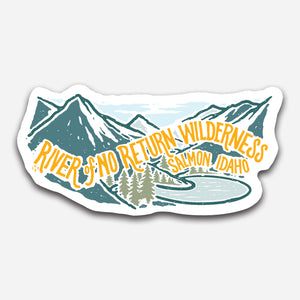 River of No Return Wilderness Sticker