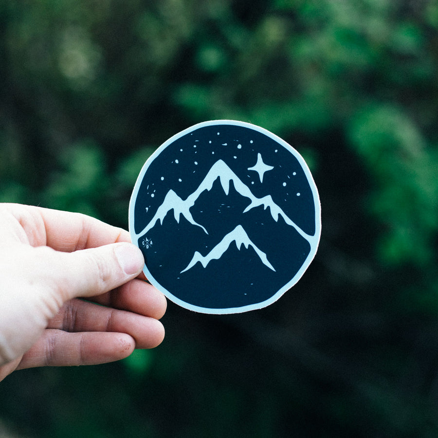 Starry Night Sticker
