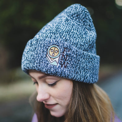 Salt & Pepper PNW Beanie
