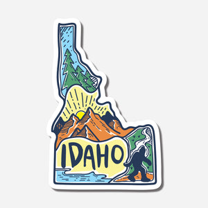 Scenes Of Idaho Sticker