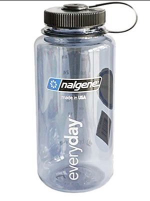 Nalgene 32 oz - Gray Everyday w/ Black Cap