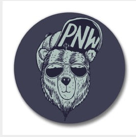 PNW Cool Bear Magnet