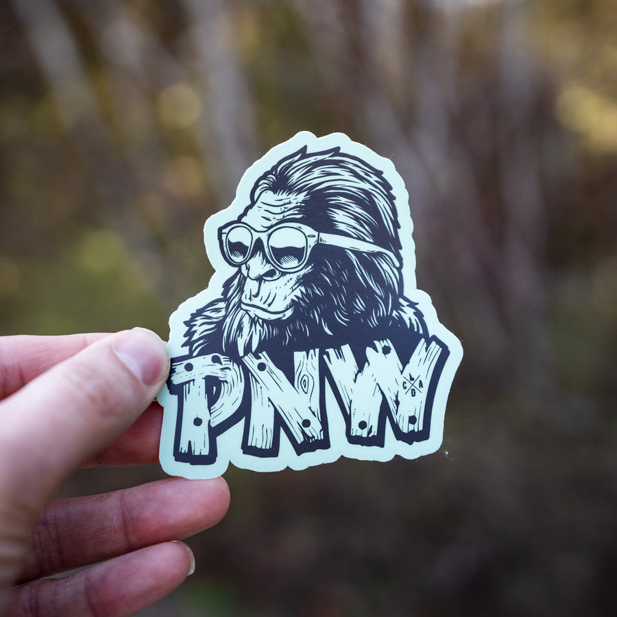 Stay Classy PNW Bigfoot Sticker