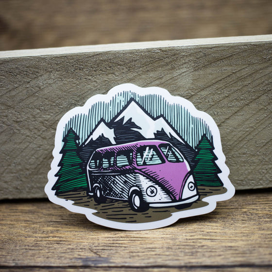 PNW Adventure bus sticker