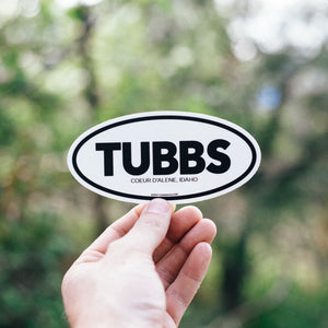 Tubbs Hill Sticker