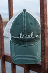 Local Vintage Dark Green Trucker Hat