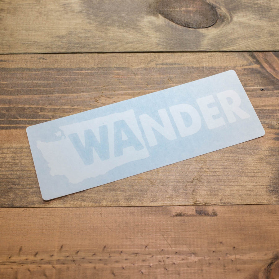 WAnder Washington Decal