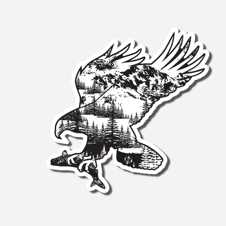 Wander Eagle Sticker