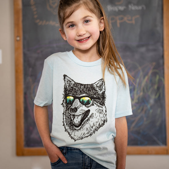Kids Wilderness Wolf Tee