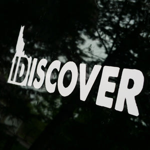 IDiscover Idaho Decal