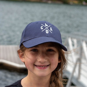 Youth Navy CDA Idaho Logo Twill Hat