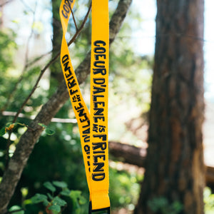 CDA is My Friend Yellow Lanyard