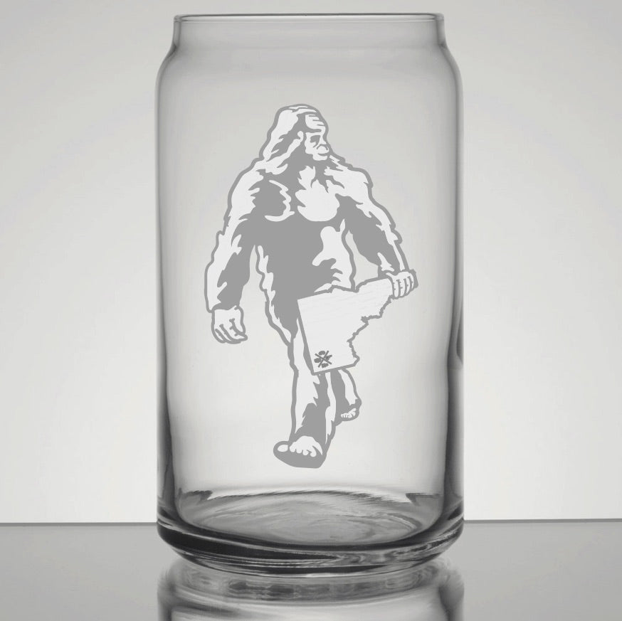 Runway Bigfoot Pint Glass