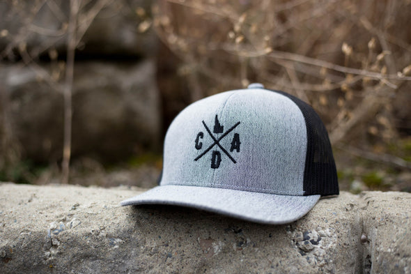 CDA Logo Gray Heather Trucker Hat