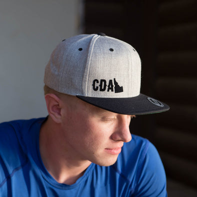 Wool Blend Black Bill CDA State Trucker Hat