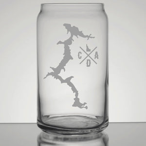 CDA Lake Pint Glass