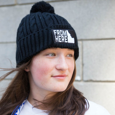 From Here Idaho Beanie