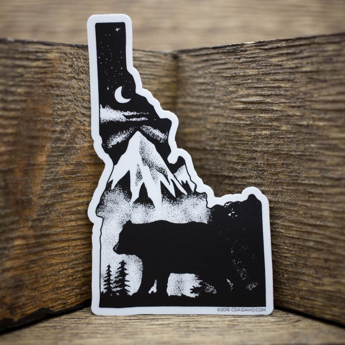Goodnight Idaho Sticker
