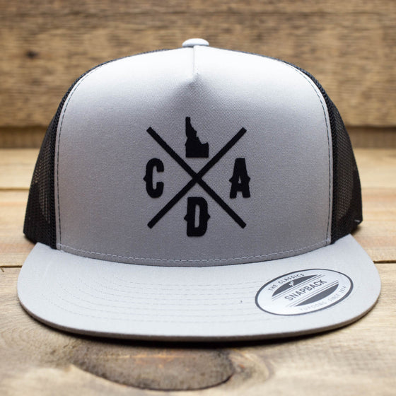 Gray CDA Logo Trucker Hat