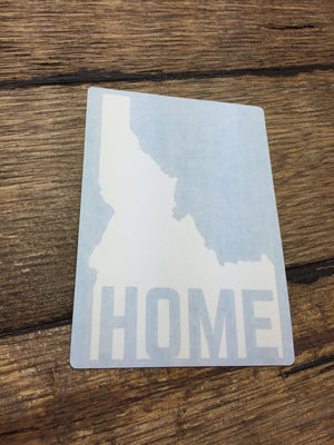 Idaho Home Decal