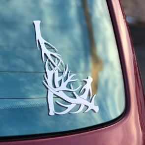 Idaho Antler Cut Vinyl Decal