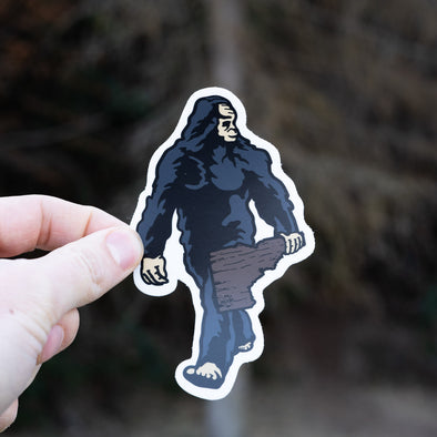 Idaho Bigfoot Runway Model Sticker