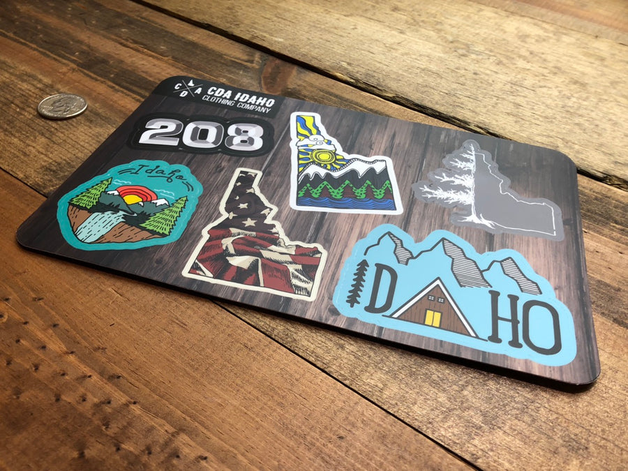 Idaho Essentials Sticker Sheet
