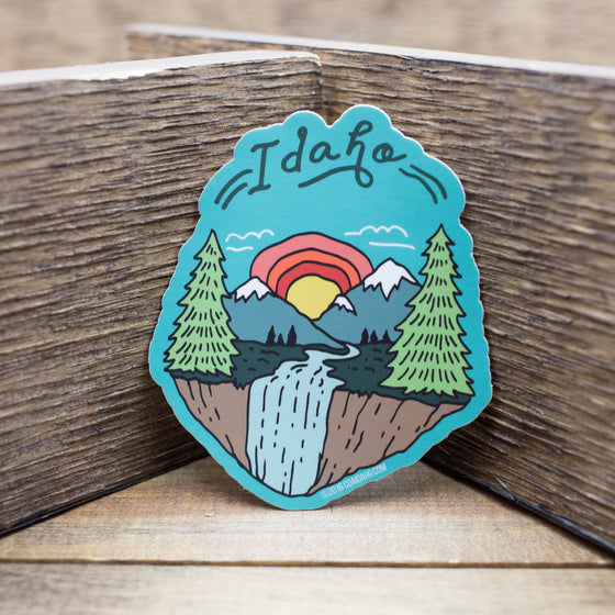 Idaho Scenery Sticker