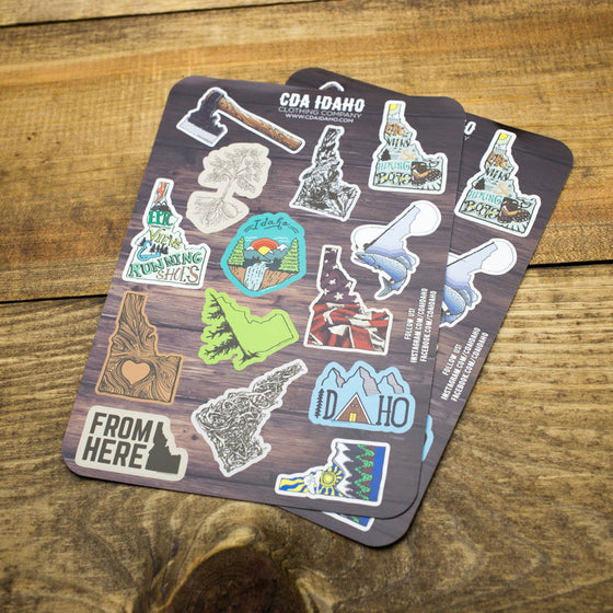 Idaho Sticker Sheet
