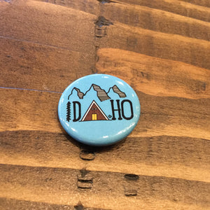 Idaho Cabin Button